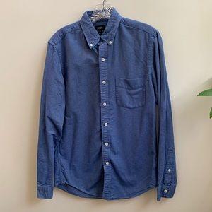 J.Crew blue Oxford slim shirt S